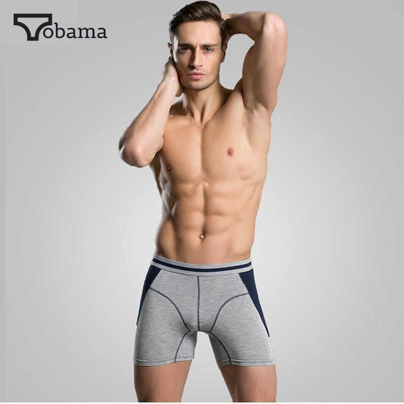Men's Underwear Hot Selling S Cotton Antibacterial Comfortable Long Leg Mens Boxers Shorts Male Underpants Six Colors Size M To Xxxl