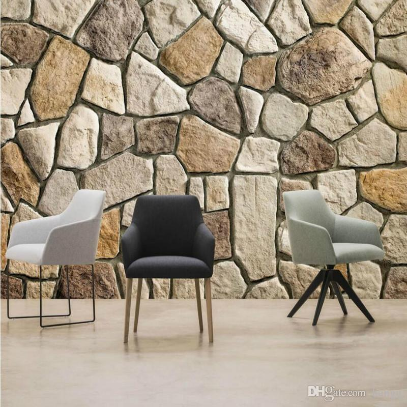 Home Improvement Decor 3D Wallpaper For Walls HD Stone