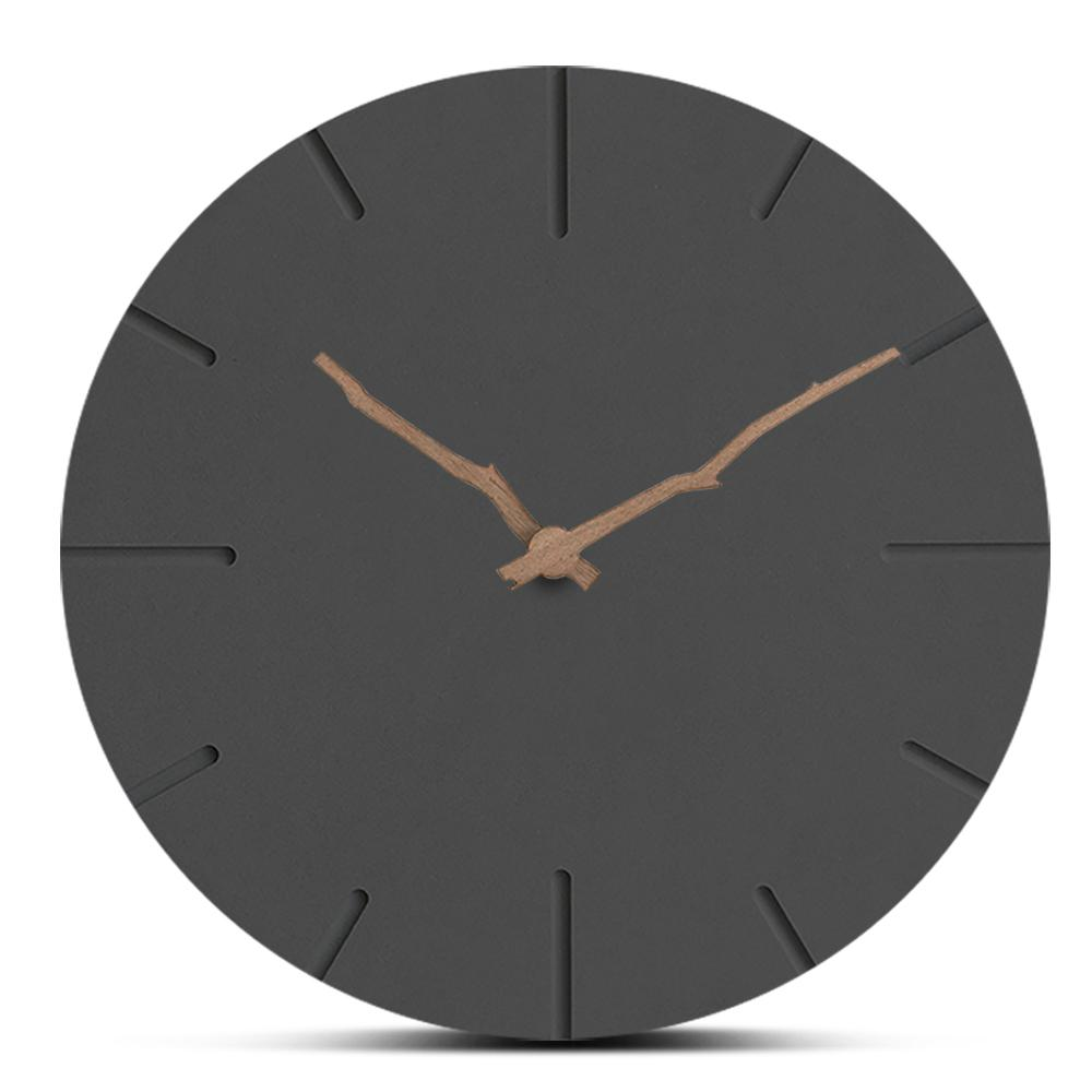 New Style Creative Wooden Wall Clocks Home Decor European Simple