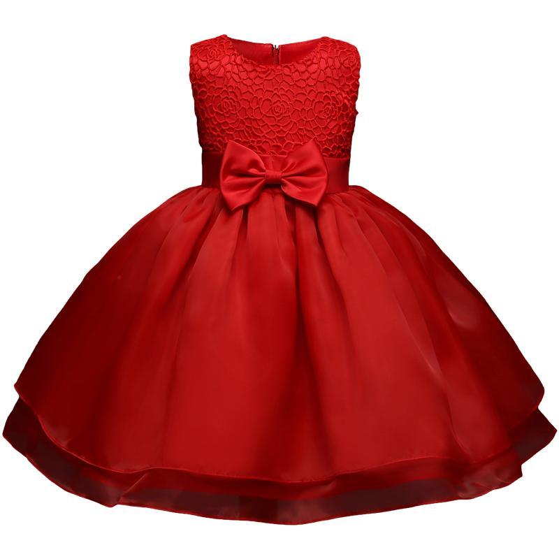 Großhandel Neugeborenes Baby 1 2 Jahre Geburtstag Kleid Für Mädchen ...