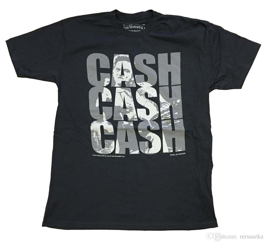 737e213b Johnny Cash Triple Cash T-Shirt Mens Tee Shirts T Shirt Design Wholesale T  Shirts Online with $12.98/Piece on Shirtsprint's Store   DHgate.com