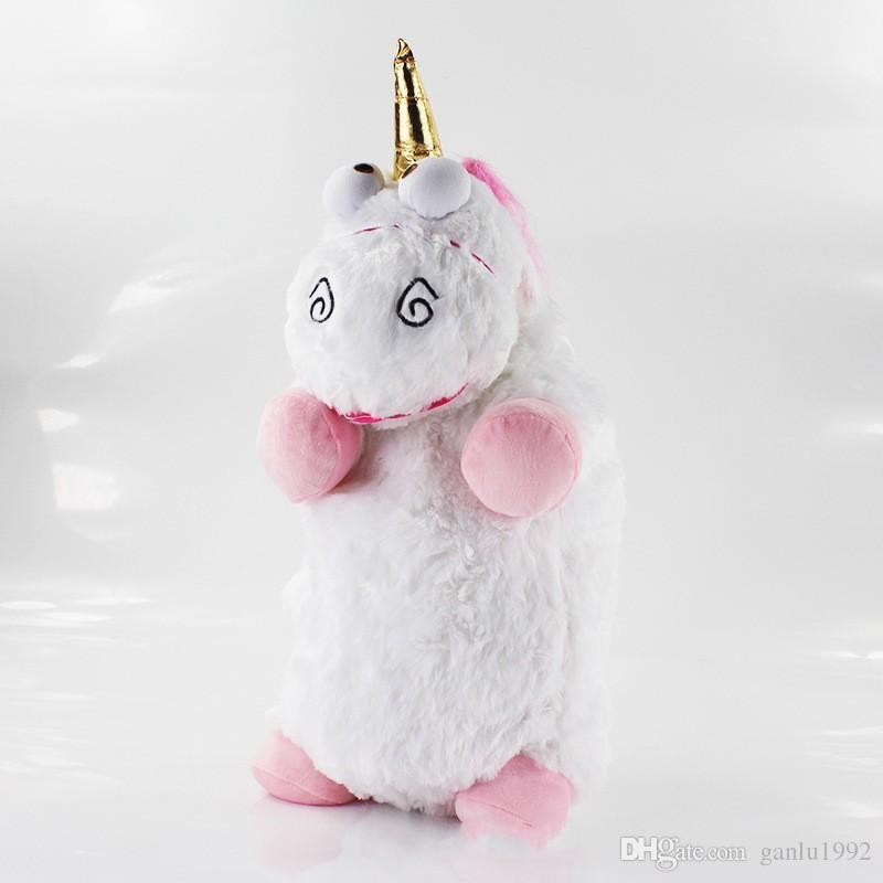 Juguetes Brinquedos de Pelúcia Boa Qualidade Tecido Unicórnio Boneca Travesseiro Bens Em Estoque Lindo Animal Modelagem Presente Para Crianças 23jr3 W