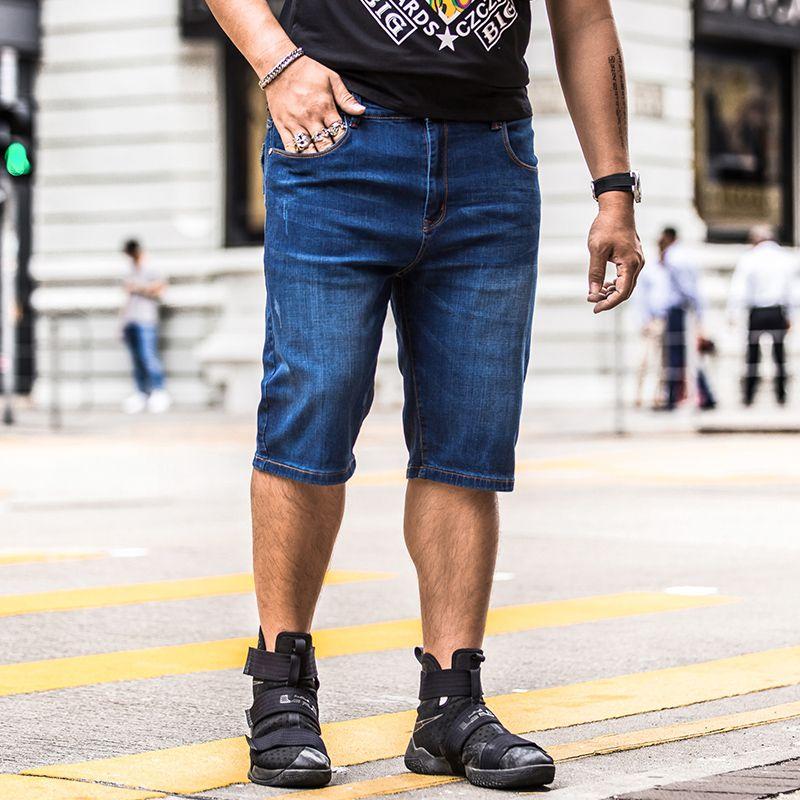 2019 Fashion Casual Denim Shorts For Men 2018 New Men S Summer