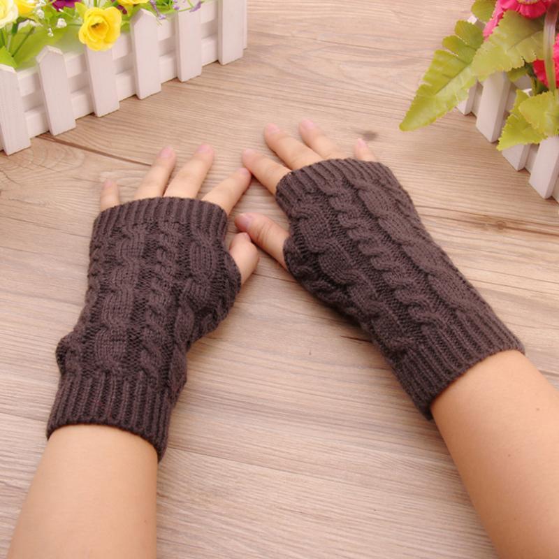 Großhandel Mode Frauen Stilvolle Handwärmer Winter Handschuhe Femal ...