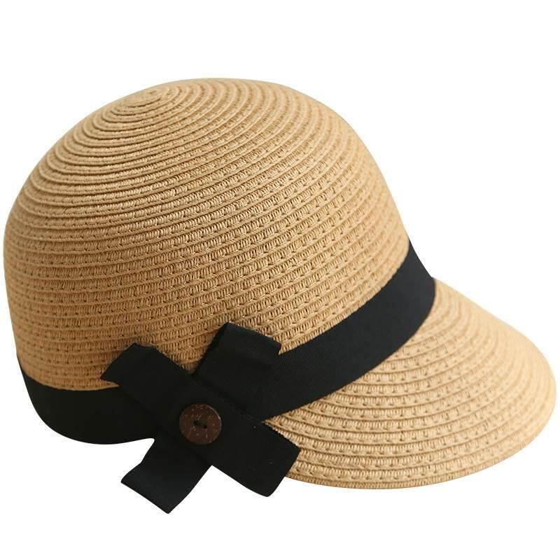289e8c38751 Beach Cap 2018 New Straw Equestrian Baseball Cap For Women Men High Quality  Fashion Bow Decoration Knight Hats Wool Hat Black Hats From Harrieta
