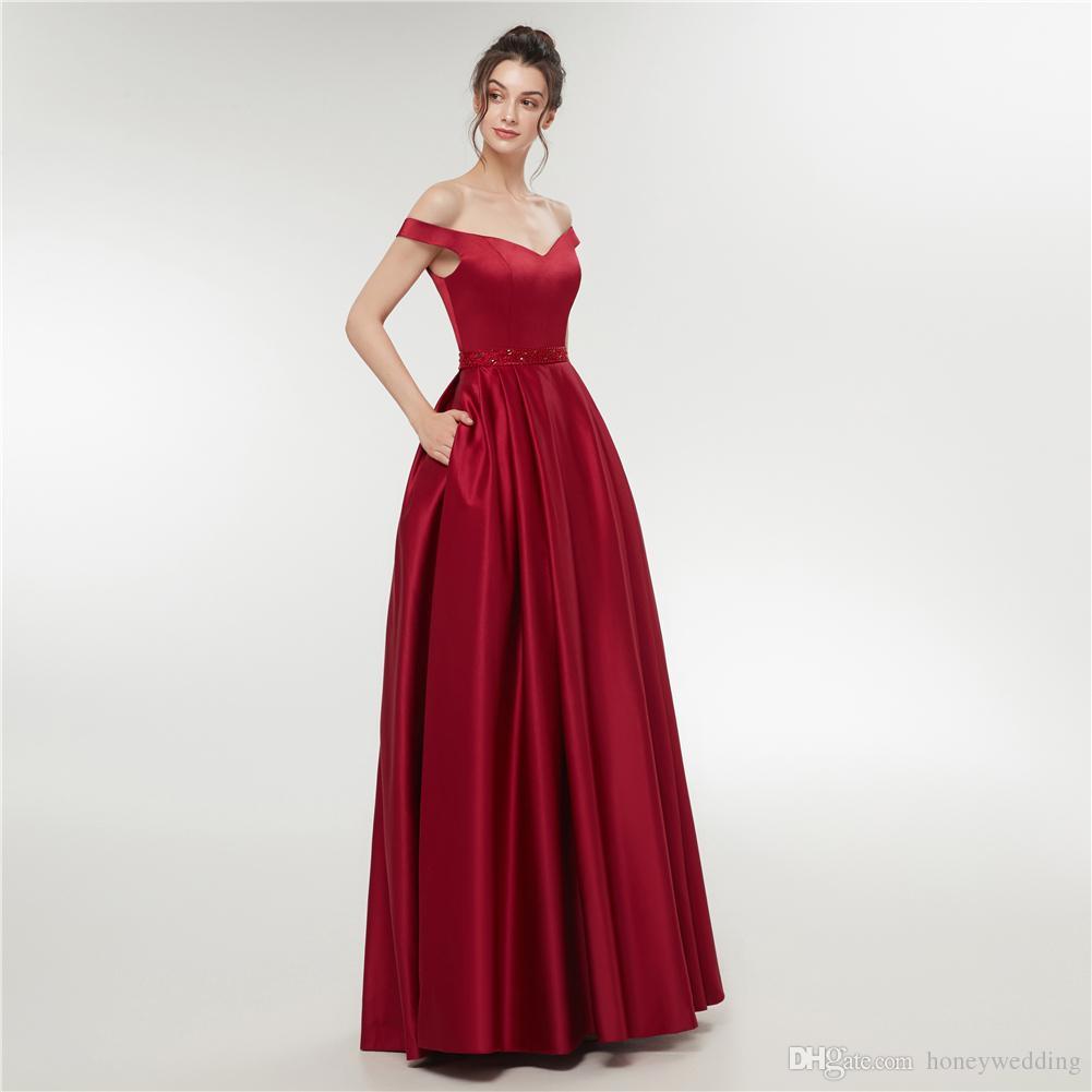 Großhandel Lange Abendkleider 11 Neue Formale Abendkleid Kleider Perlen  Günstige Damen Kleider Für Besondere Anlässe Abendgarderobe Von