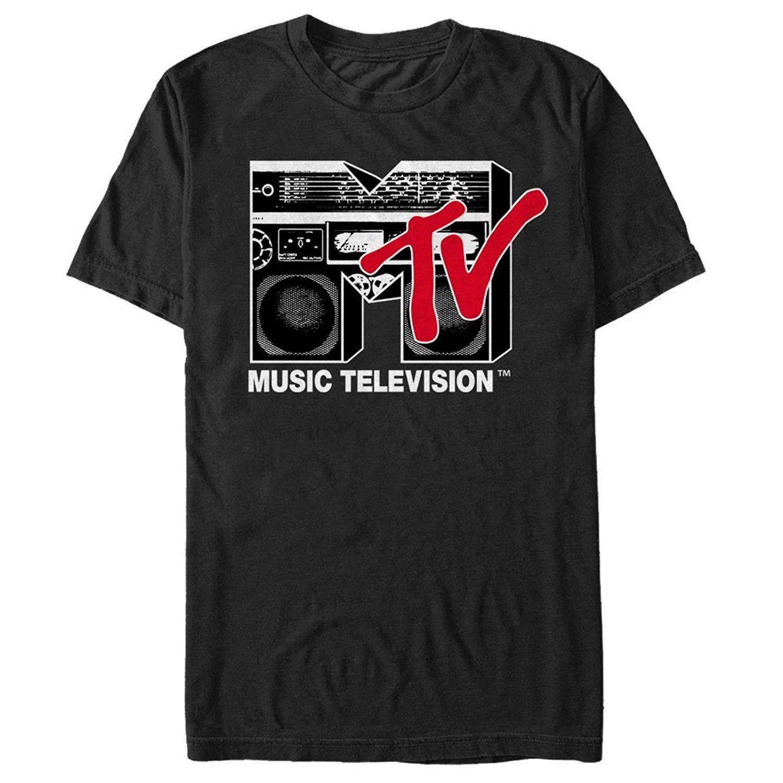 357976dd1 Fifth Sun Mtv Boombox Logo Mens Graphic T Shirt 2018 New Fashion Men's T  Shirts Short Sleeve Movie Shirt 2018 Latest