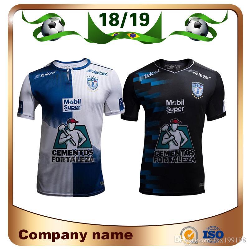 Compre 2019 Liga Equipe MX Pachuca Camisa De Futebol 18 19 Pachuca Casa  Branco Camisa De Futebol Da Liga Do México Pachuca Longe Uniforme De  Futebol Preto ... 2551cf3eb