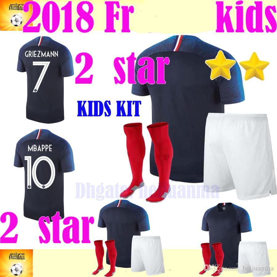 3e44d61b6 ... Kids  Football Kit£44.95 Cheap Set Soccer Jerseys Best Black Football  Sets ...
