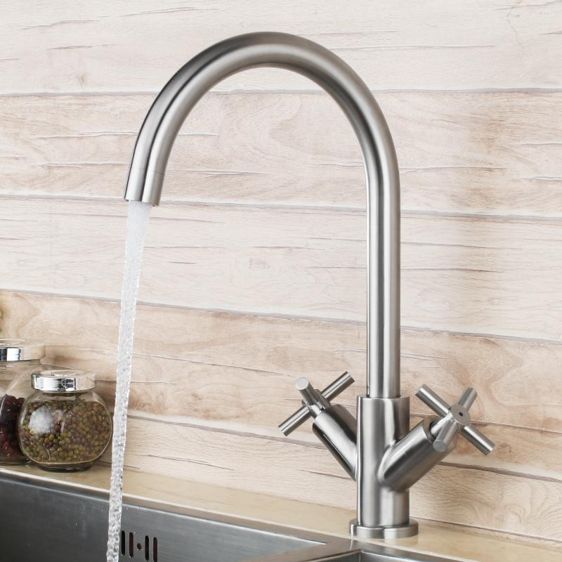Brushed Nickel Stainless Steel Unique Design