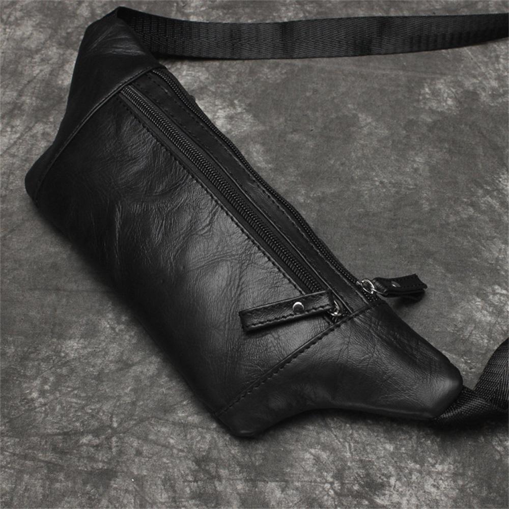 fde9dabf69441 100% Genuine Leather Men Waist Packs Fanny Pack Belt Bag Phone Pouch Bags  Travel Waist Pack Male Small Waist Bag Leather Pouch Handbags On Sale Fanny  Packs ...