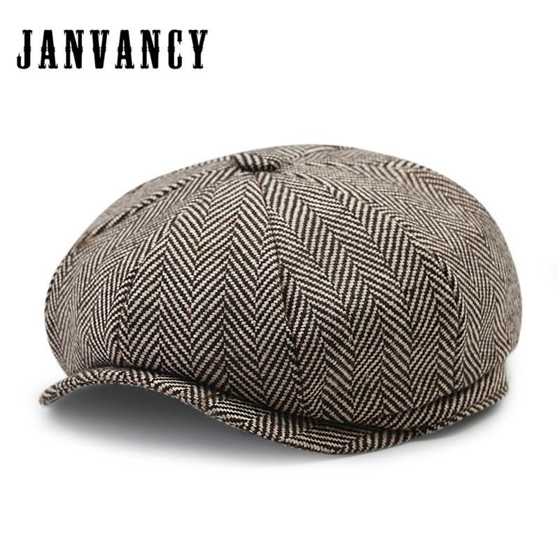 Acquista Janvancy Man Beret Baret Boina Dad Caps Newsboy Cap Donna Lana 8  Panel Cappelli Da Uomo Classici Di Alta Qualità Flat A  27.11 Dal Fragmentt  ... 62d1d66aa089