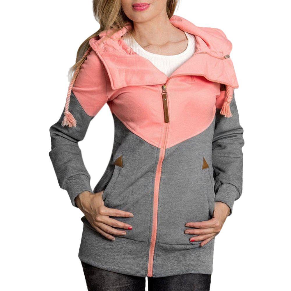 b50b7f0cac0 2019 5xl Plus Size Sweatshirt With Zipper Women Hoodies Winter Pullover  Harajuku Moletom Autumn Female Hoody Clothes Sudadera Mujer From Xianfeiyu