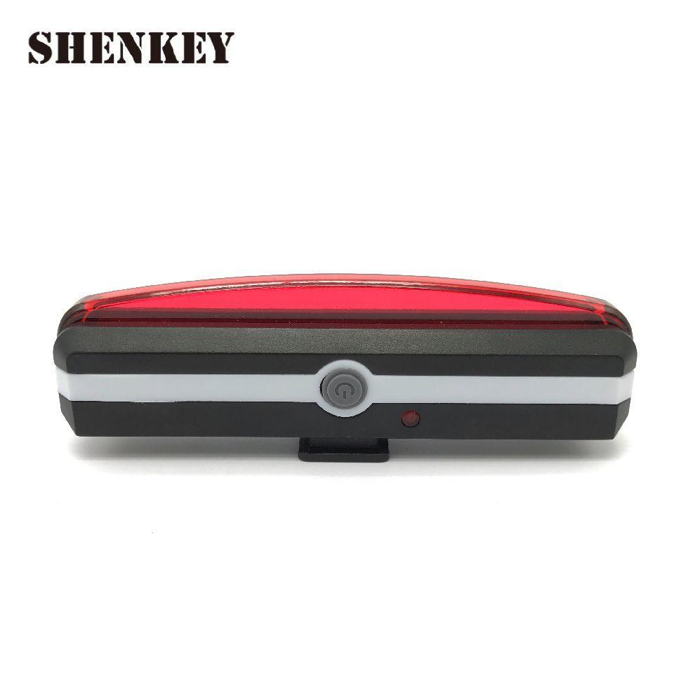8fe144d4ef7 2019 SHENKEY New USB Rechargeable Bicycle Light Bike Tail Rear Back Light  For Cycling Bike Accessories Bicycle LED Lamp Reflector Y1892709 From  Shenping03