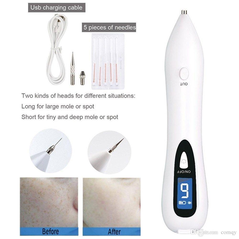 NEW Laser Skin Spot Mole Remover Machine Face Freckle Tattoo Removal Plasma Pen Wart Remover Beauty Care