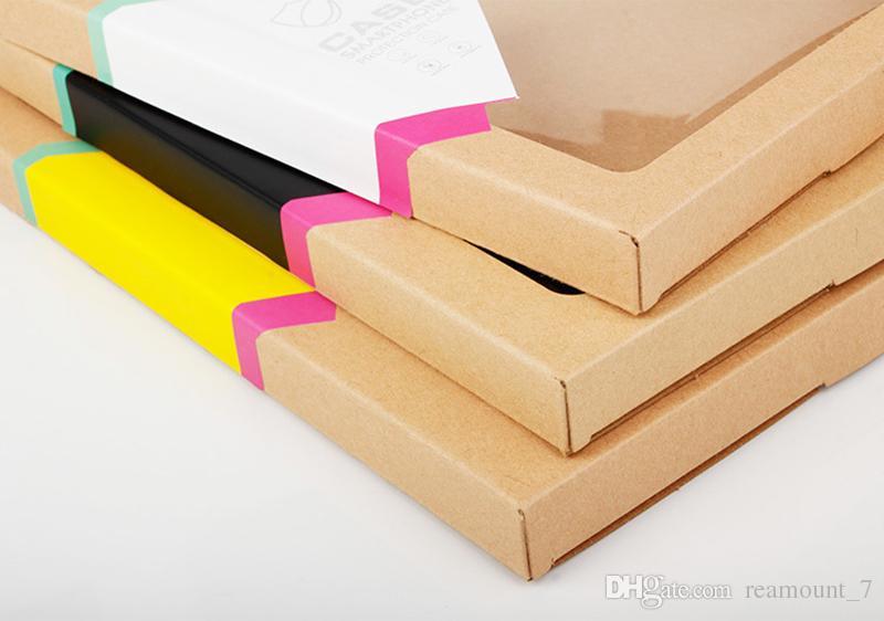 Boîte d'emballage de papier pour Housse de table pour Pad mini air 2 pour 8 9 10 pouces Couverture Shell avec autocollant