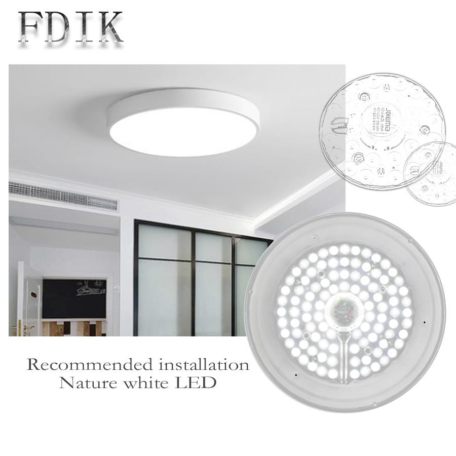 Led Module 12w 18w 24w 36w Ceiling Light Round Led Downlight Cool ...