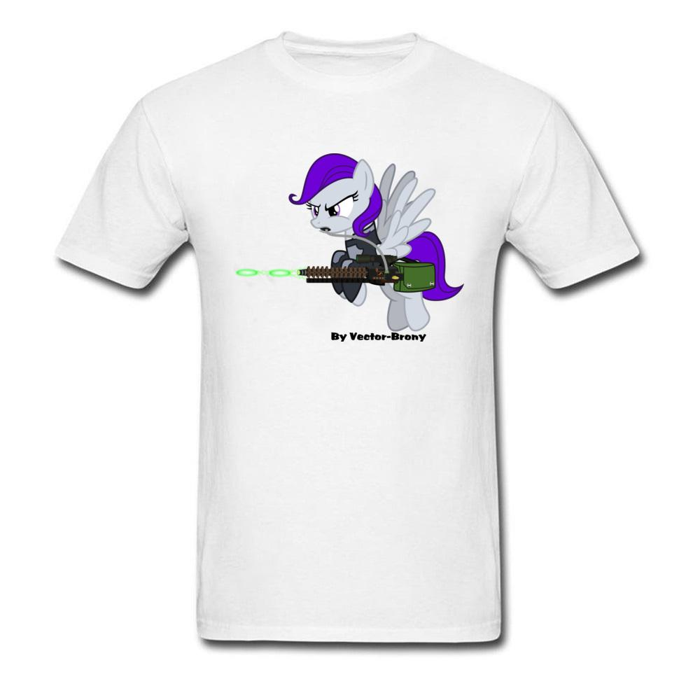 88cd437e74e Cute Pony Graphic Mens T Shirts Brony With Gun Printed On T Shirt Custom  Personalized Top T Shirt Oversized Plain Cotton Tees Funny Clever T Shirts  Best ...