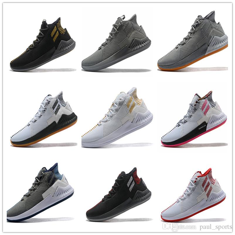 2018 New Derrick Rose 9 IX Casual Shoes For Top Quality 9s Black White Gold  Pink Red Men Outdoors Sneakers Size 40 46 Womens Sandals Comfortable Shoes  From ... f53fa5e8f