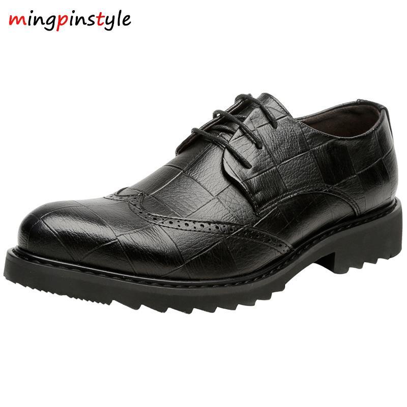 7433e7d8079b85 Großhandel 2018 Neue Schuhe Für Männer Modische Schuhe Aus Formalen Mit  Kreuz Schnürung Für Männer Mit Wie Gute Qualität Männer Von Shoesbuddy