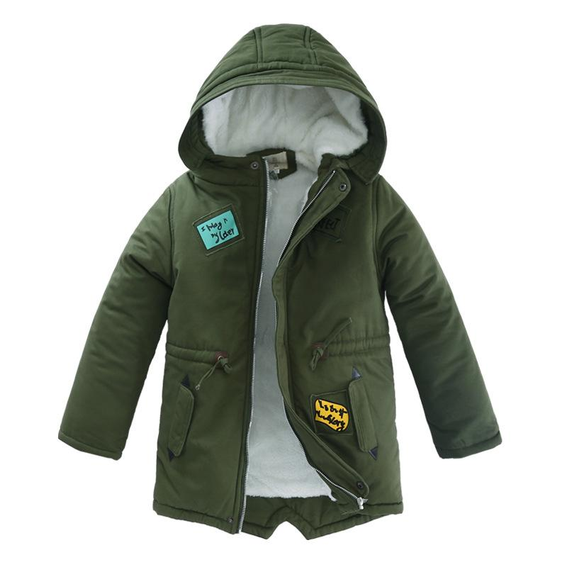 Baby Boys Coat 2017 Winter Jacket For Boys Fashion Hoodies Children Coat Boys clothes Jackets Warm Outerwear for kids clothing