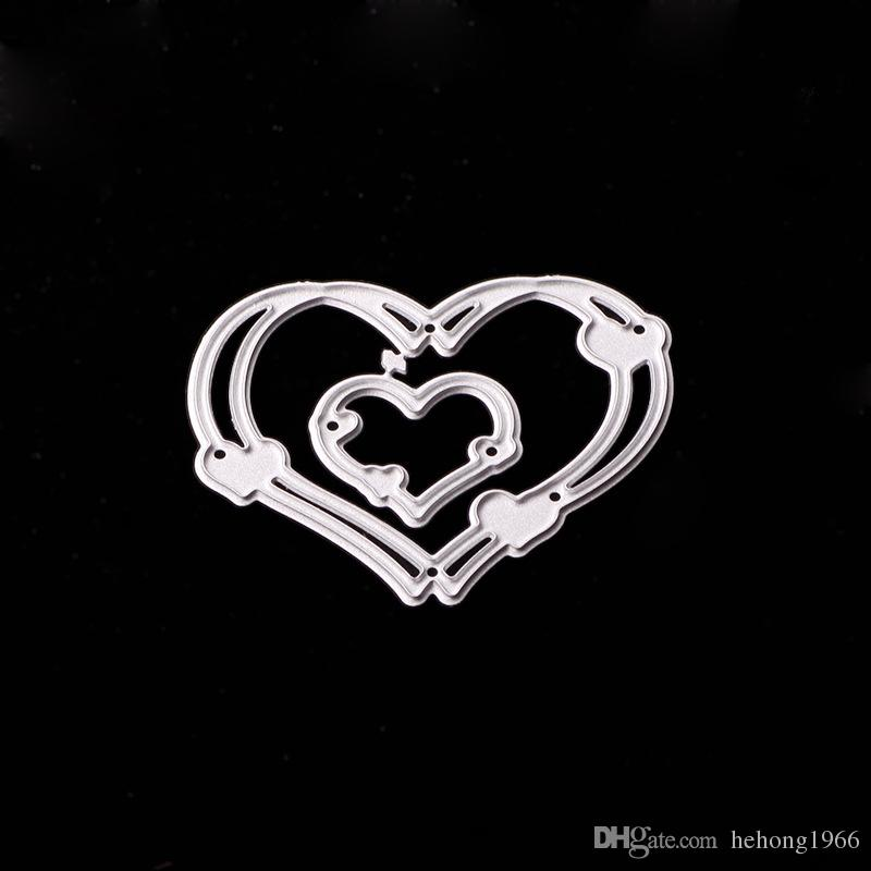 Unicorn Cutting Dies Christmas Metal Silver Knife Die For DIY Stencil Lovely Embossing Home Furnishing Decorative Hot Sale 3 5sx Y