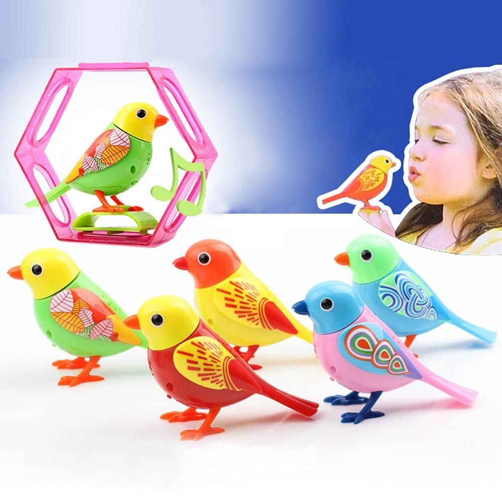 20 Songs Singing Sound Birds Pets Sing Solo intelligent Music Toys Digibirds Music Bird for Kids Children Electric Toy