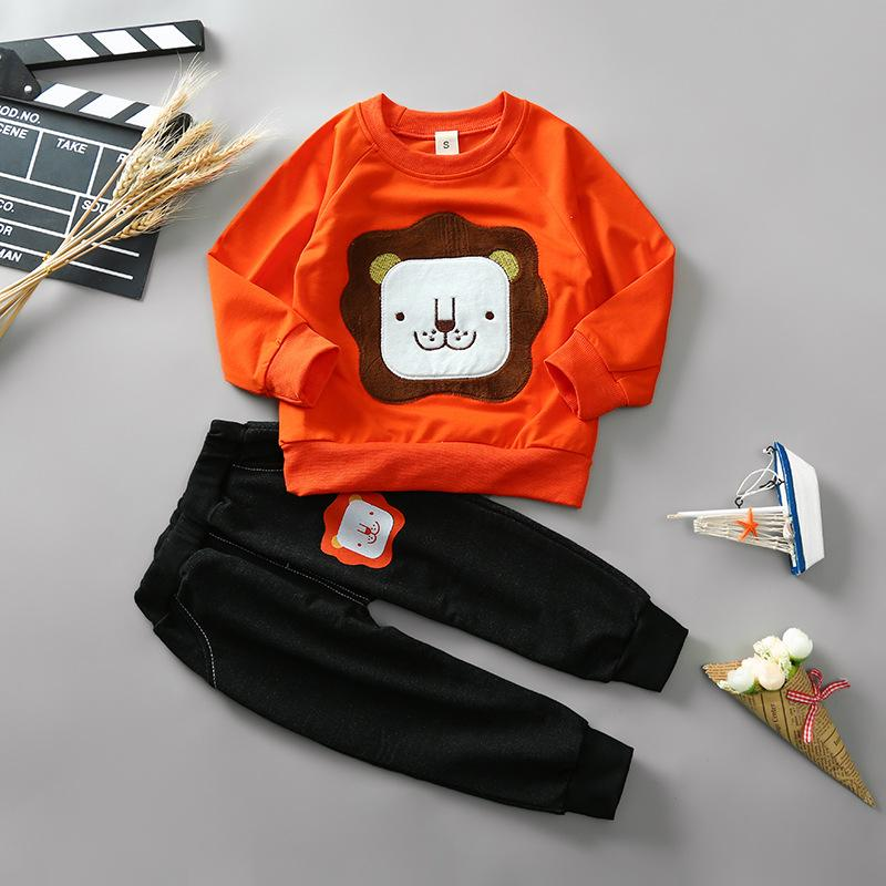 93fe3509d Baby Boys Clothes Set Cotton Newborn Baby Girl Boy Clothing Long Sleeve T  Shirt +Pant Suits Autumn Infant Costume Outfit