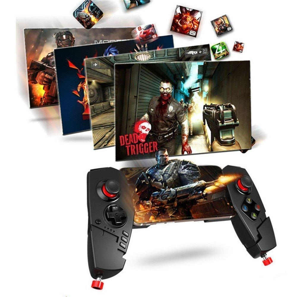 100% Original IPEGA PG-9055 djustable Wireless Bluetooth Game Pad Controller Gamepad Joystick for Android Phone iOS Smart TV