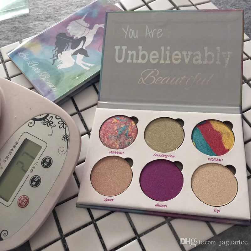 Love Luxe Beauty Fantasy Eyeshadow Palette Makeup Unbelievably Beautiful highlighters Powder Palette From Jaguartee