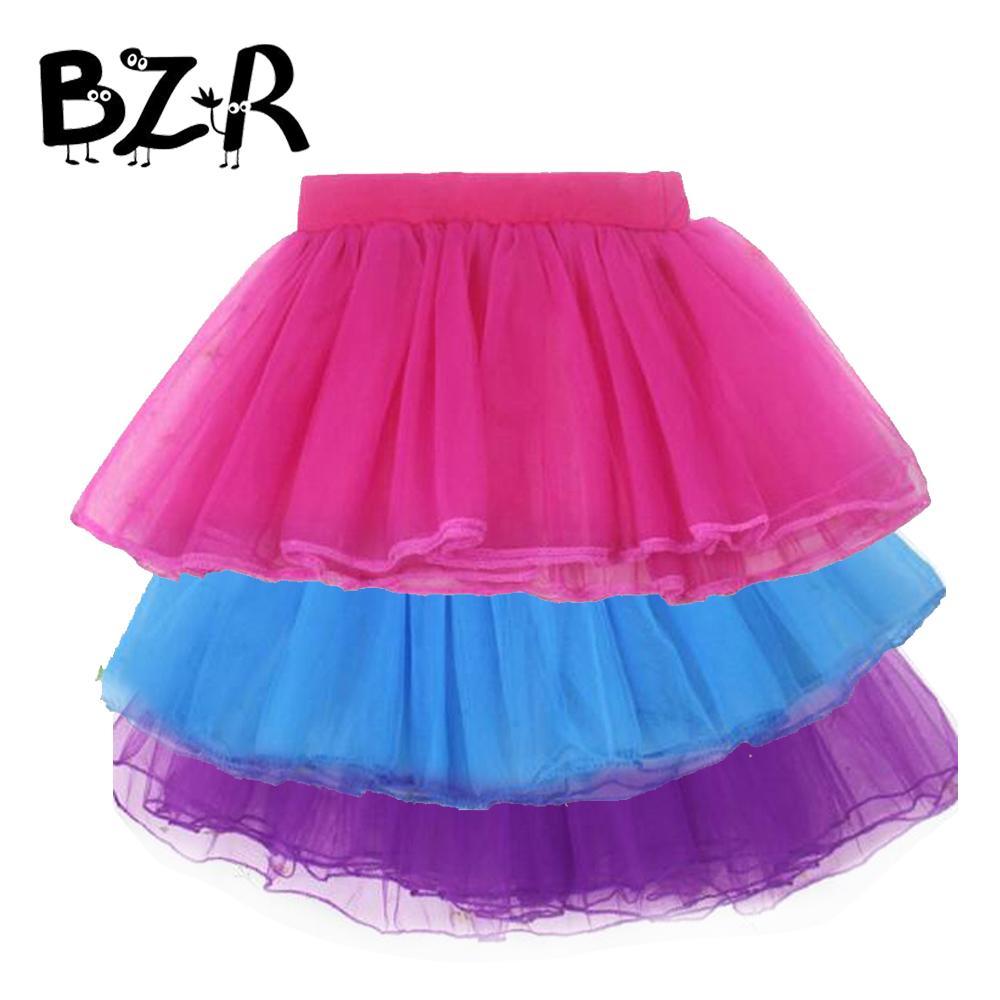 bba0d1a35 Compre Bazzery 3 Capas Niños Falda De Soplo Infantil Para Niñas Vestido De  Ballet Princesa Mullida Faldas De Baile Escuela Primaria Realizar Tutús De  Tul A ...