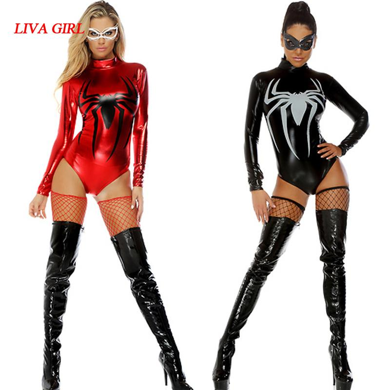 Recommend sexy spiderman costumes are