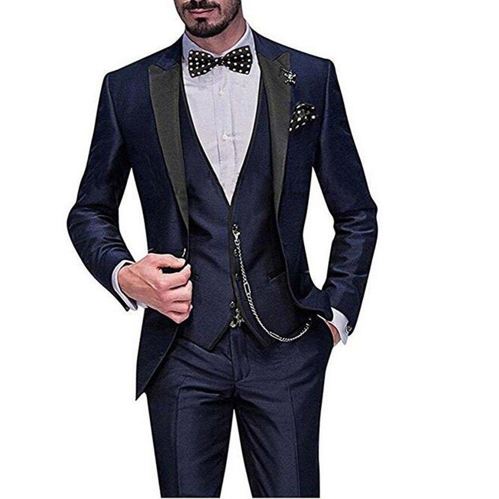 9d347cc8ad JinXuanYa Sale Brand Mens Suit Jacket Formal Business Blazer Groom ...