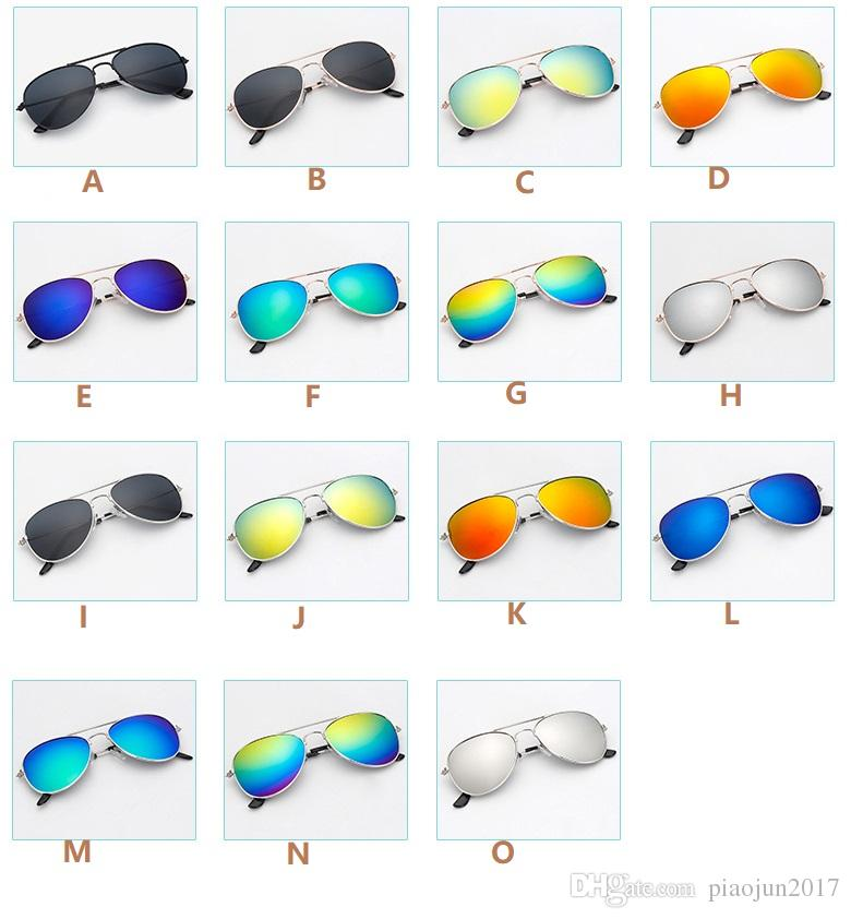 9bf91fc426 Compre 2018 Hot New Fashion Aviator Style Design Niños Niñas Niños Gafas De  Sol Kids Beach Supplies UV Gafas De Protección Bebé Sombrillas Gafas A  $24.06 ...