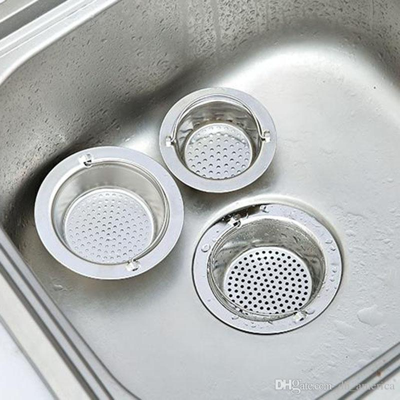 Stainless Steel Kitchen Sink Filter Bath Hair