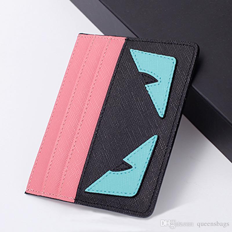 Commercio all'ingrosso di nuovi F E N D titolari di carta uomini e donne Multi Card versione coreana del portafoglio di carta di credito ultra-sottile Cartoon