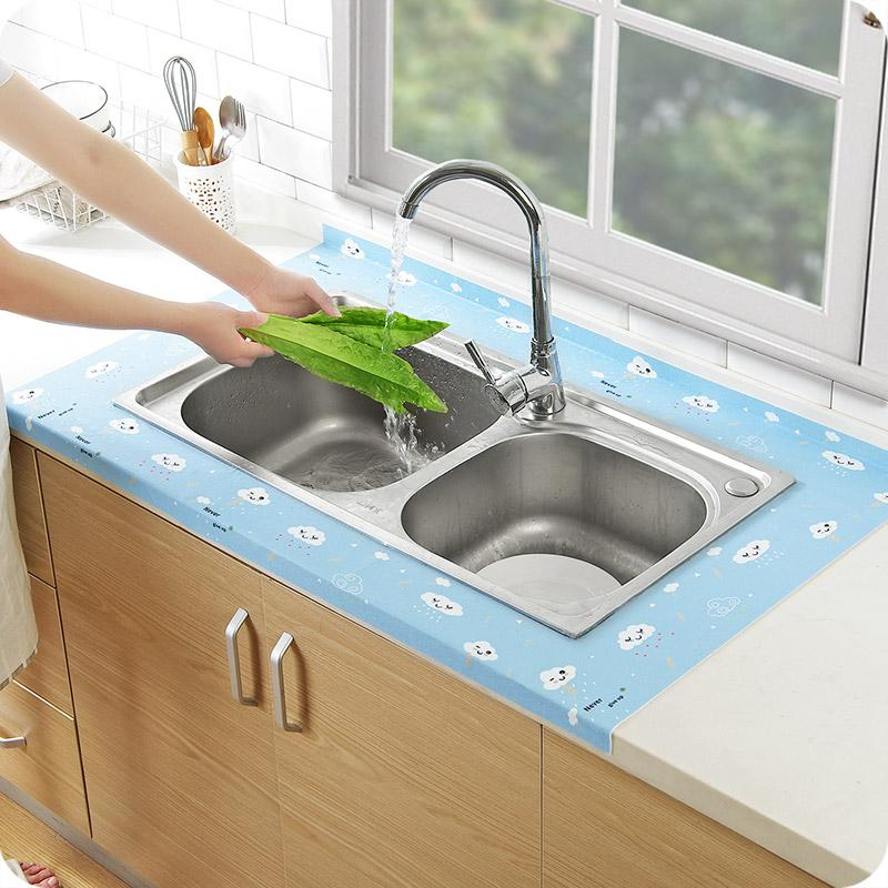 50x12cm self adhesive kitchen sink waterproof stickers upscale rh dhgate com Sink Hardware I Refuse to Sink Infinity Template