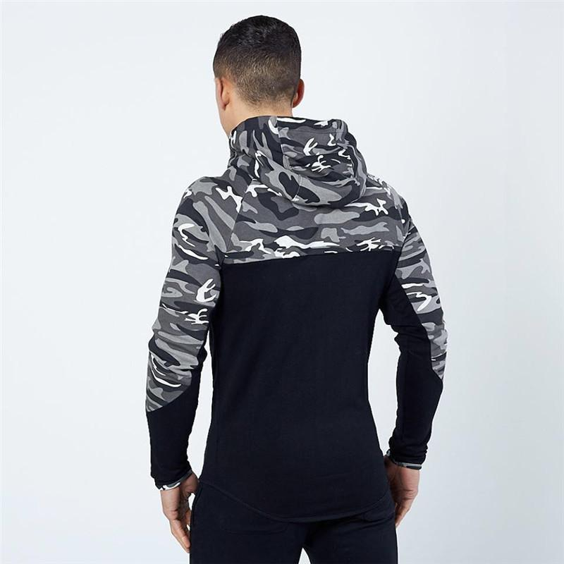 Casual Hip hop Hoodies jacket men-3