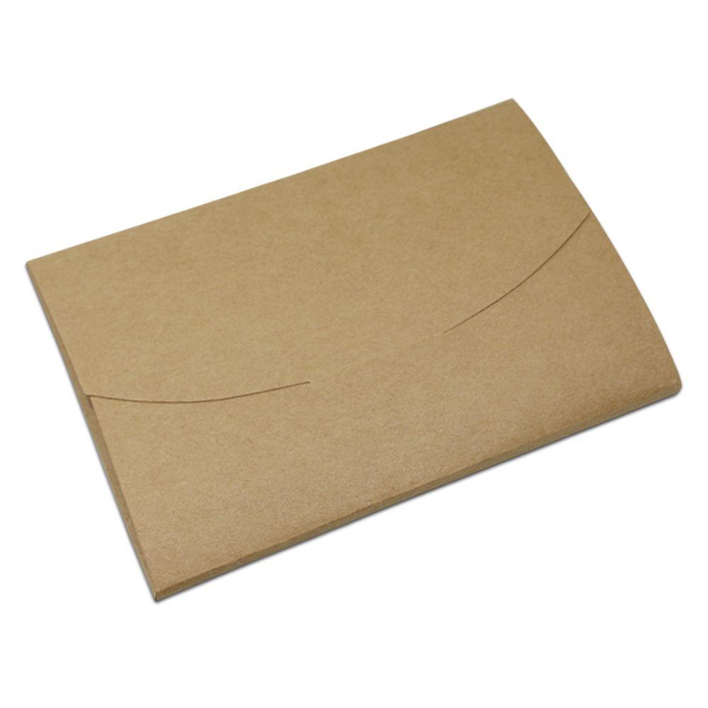 Dhl Brown Envelope Design Kraft Paper Postcard Storage Box Wholesale