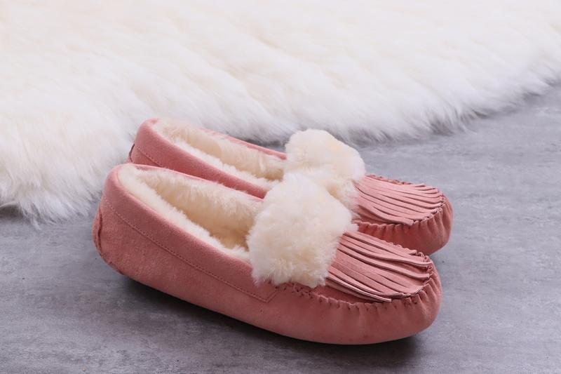 b14b8f6883f8 W Lane Ansley Idyllwild Slipper Indoors Out Spotted-Print Cow Hair Suede  Fluff Rubber Outsole Chestnut Snow Winter Slippers Blk Chn 00Ugg12 Fluff  Boots Fro ...