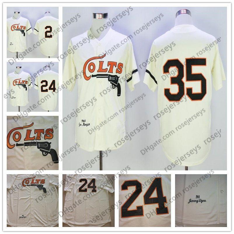 2019 Houston Colt 45s  35 Joe Morgan Cream Vintage 1964 Jerseys Stitched  24  Jimmy Wynn  2 Nellie Fox Retro Mens Baseball Jersey Size S 3XL From  Rosejerseys ... 89b0ca6b3