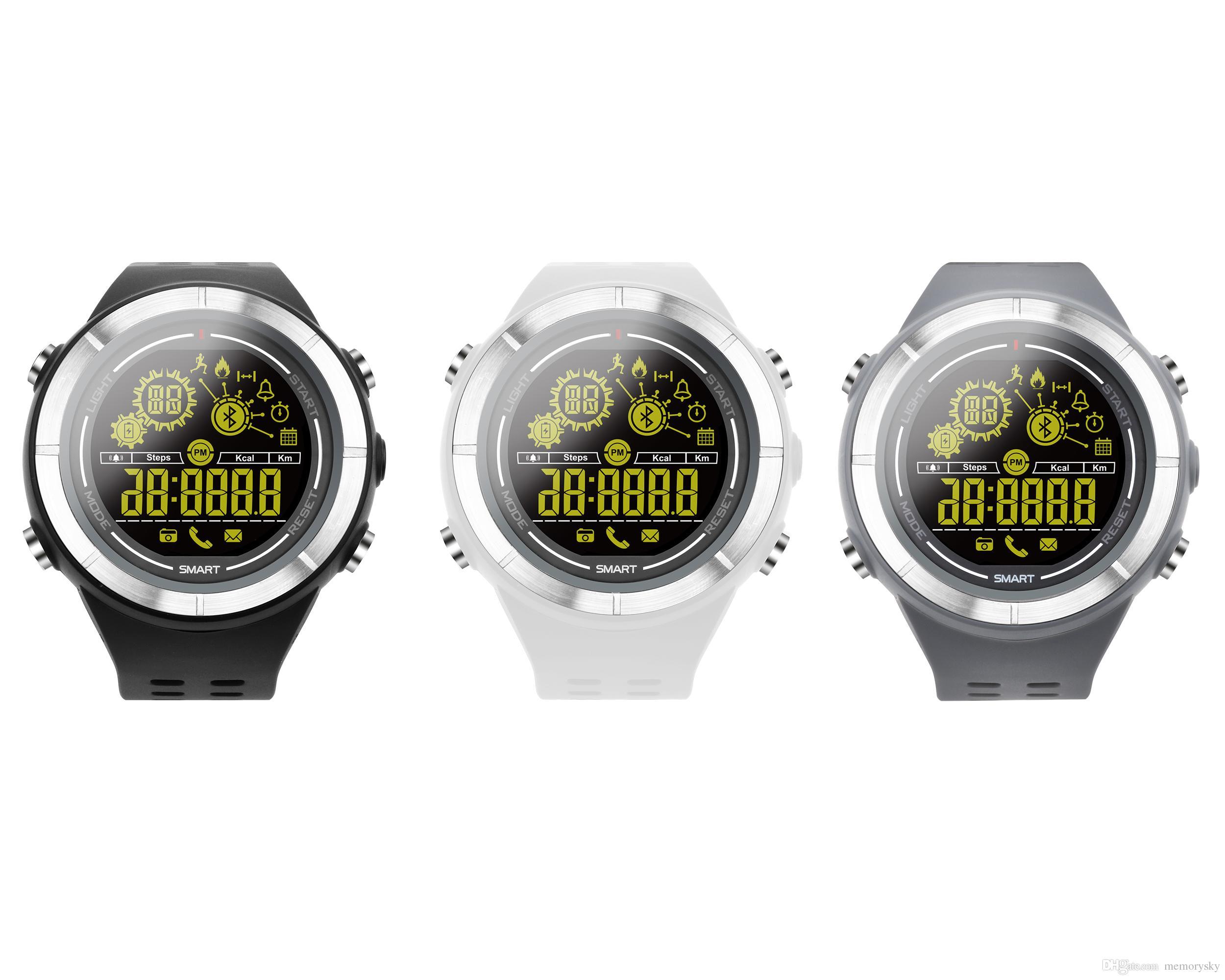 Ios Smartwatch Ex32 Sport Smartwatch Für Ios Und Android Handys Wasserdicht Mit Bluetooth Und Sport Funktionen Smartband Smartwatch Pebble Smart Watch Von