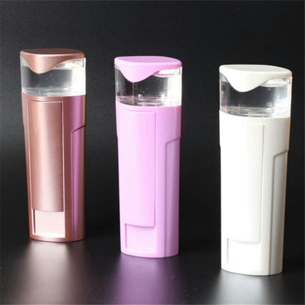 Nano Face Water Mist Spray Facial Steamer Mister Sprayer Rechargeable Power Bank Sprayer Beauty Equipment AAA307