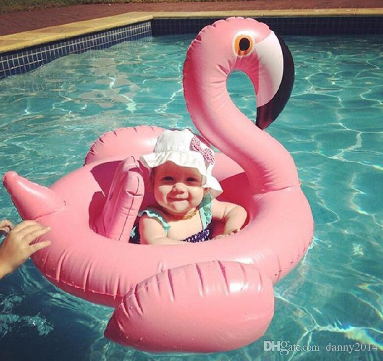 Pool Floats baby Inflatable flamingo swan Pegasus Water Swimming Swim Ring Pool unicorn animals Toy for swimming inflatable pool toys