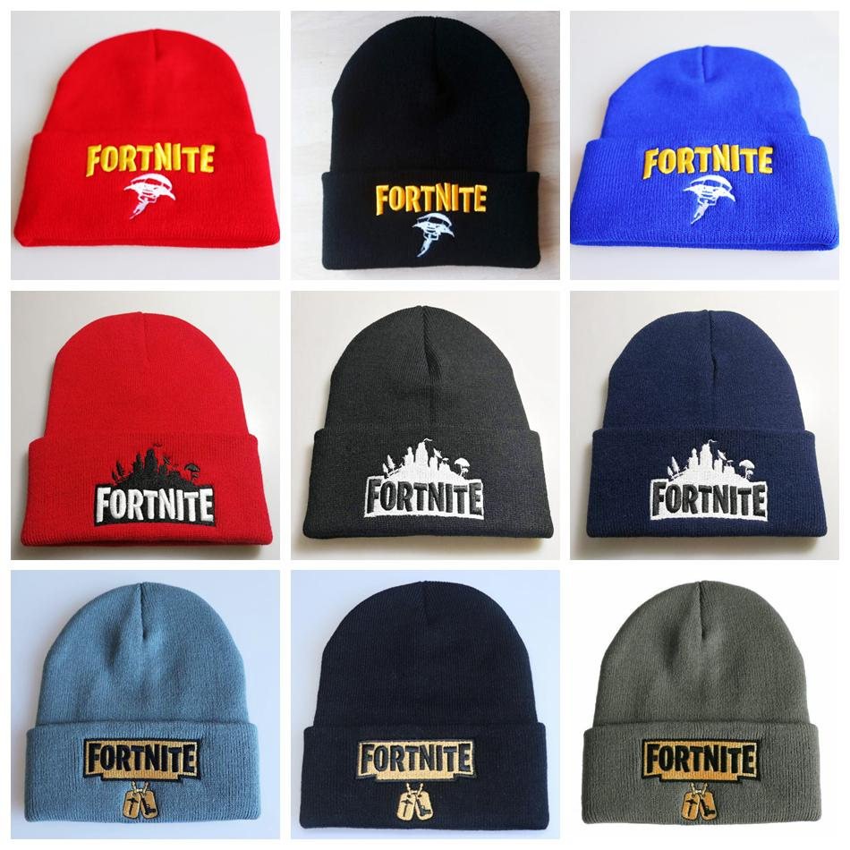 2018 Fortnite Cosplay Beanie 29 Styles Baseball Cap Battle Royale Winter  Outdoor Ski Cap Game Soft Beanies Party Hats OOA5936 From B2b life 02d493c0e290
