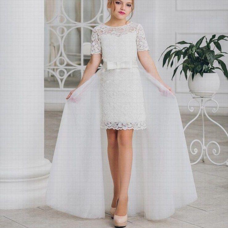 aed74597c65b Princess Pageant Kid s Flower Girl Dress.little Girl Communion Dress ...