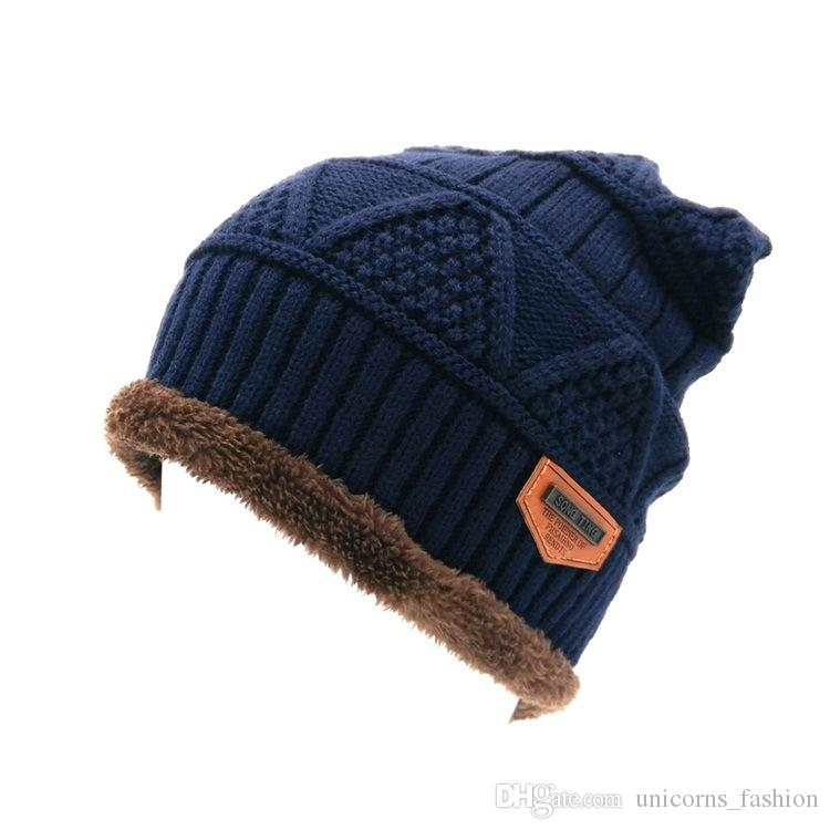 Unisex Winter Warm Hip Hop Skullies Beanie Men Women Knitted Hat Causal  Outdoor Warm Cap CNY648 Knit Hat Hats Crochet Hats Online with  4.18 Piece  on ... 20cd2ce25399