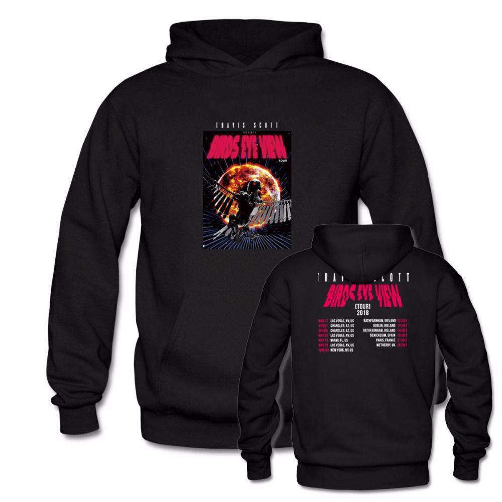 15245ade55d1 2019 Travis Scott 2018 World Tour Concert Hoodie Fashion Black Men Women  Unisex Pullover Hoodies Vintage Hoody Sweatshirt Unisex Tops From Candd, ...