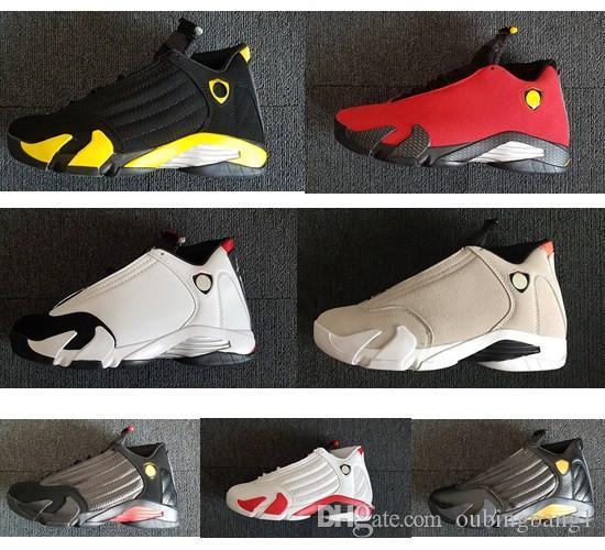 1a26989f1e0 Group Buy New 14s 14 Indiglo Oxidized Green Thunder Fusion Varsity Red  Suede Black Toe Cool Grey Men Basketball Shoes High Quality Sneakers  Jordans Running ...