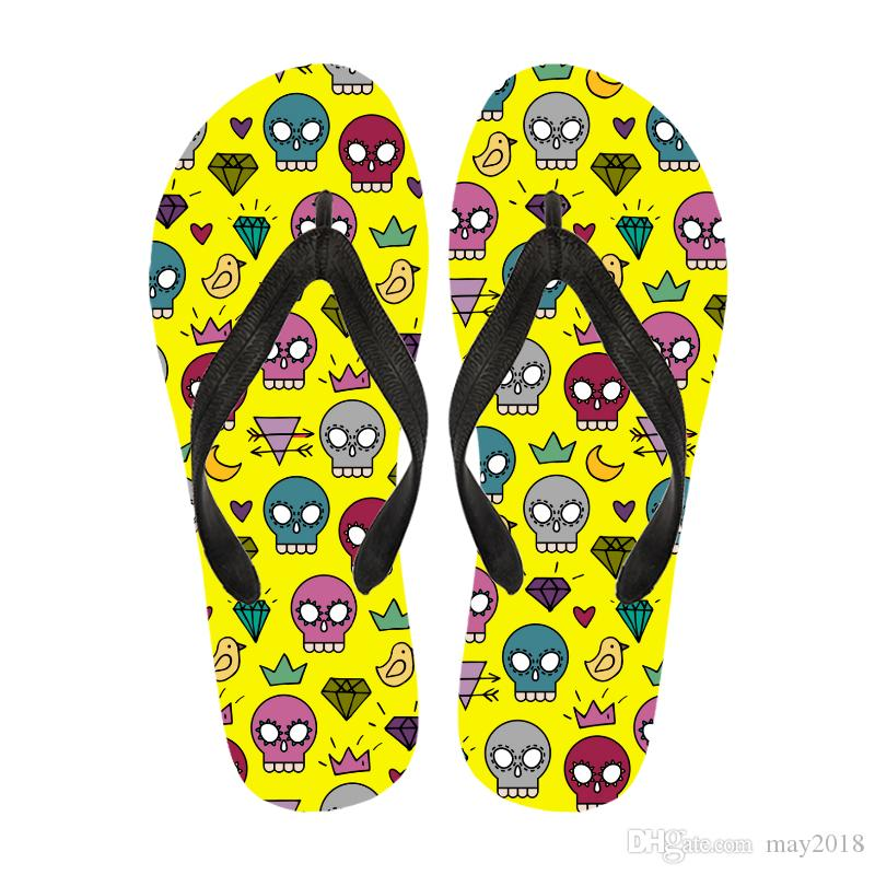 7a168370e Cheap Custom Logo Size Between 35 47 Beach Slipper Flip Flops Rubber Custom  Print Men Sandals Beach Ladies Slippers Boys Slippers From May2018